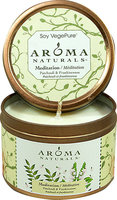 Aroma Naturals Meditation Patchouli & Frankincense Soy Candle-1-Each