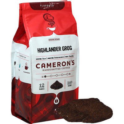 Cameron's Highlander Grog Ground Coffee-12 oz-Highlander Grog-Ground