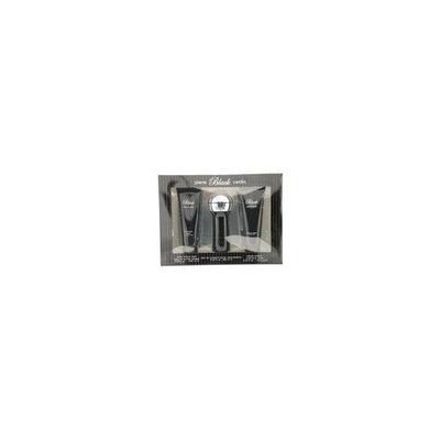 Pierre Cardin Black by Pierre Cardin for Men. Set-Eau De Cologne Spray 2.8-Ounce & Aftershave Balm 3.3-Ounce & Shave Cream 3.3-Ounce
