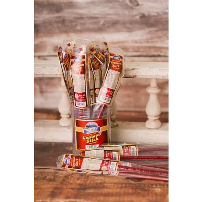 Pacific Mountain Farms Wood Smoked Venison Stick - 30 Individually Wrapped Pieces