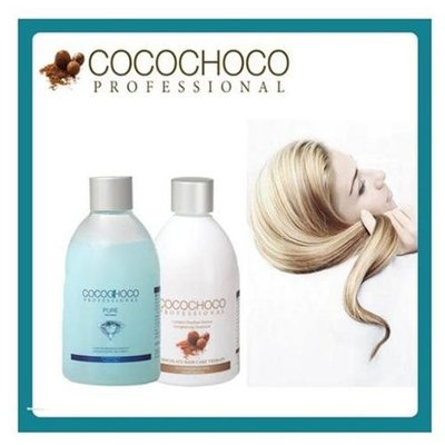 G.R Global cometics LTD COCOCHOCO Original keratin hair treatment 8.4 oz + COCOCHOCO Pure total repair 8.4 oz