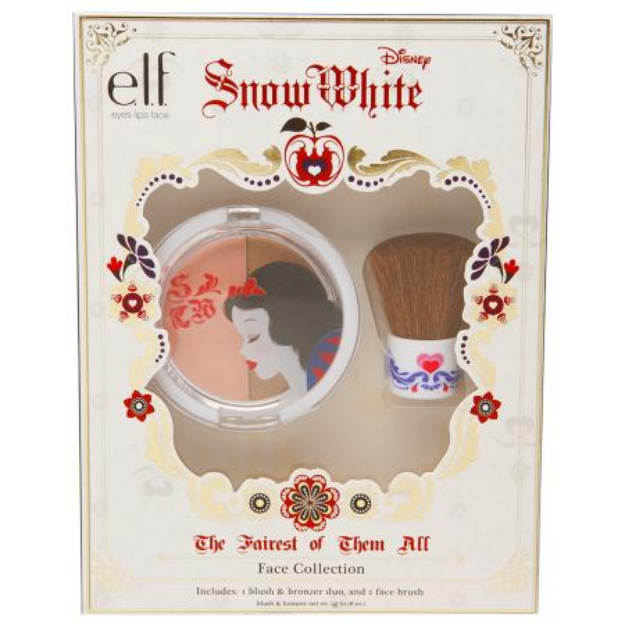 e.l.f. Disney Snow White Face Collection Gift Set, 1 set