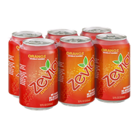 Zevia Zero Calorie Soda Orange - 6 CT