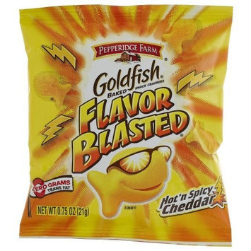 Goldfish® Flavor Blasted Hot N' Spicy Cheddar Crackers Single Serve