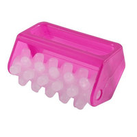 Fuchsia Plastic Stress Relief Body Roller Massager