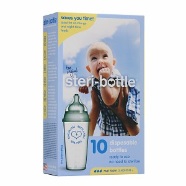 steri-bottle Single Use Baby Bottles