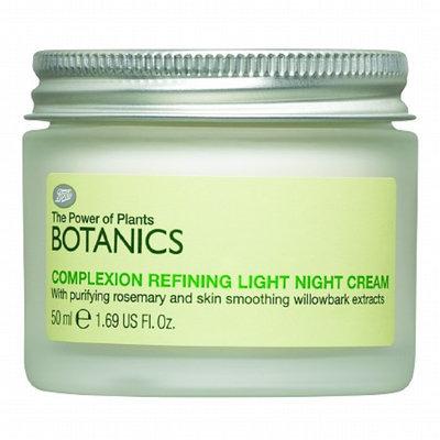 Boots Botanics Complexion Refining Light Night Cream
