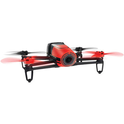 Parrot Bebop Drone - Red, Red