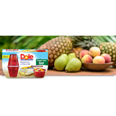 Dole Mixed Fruit in Cherry Gel