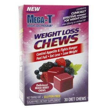 Mega-T Weight Loss Chews Mixed Berry