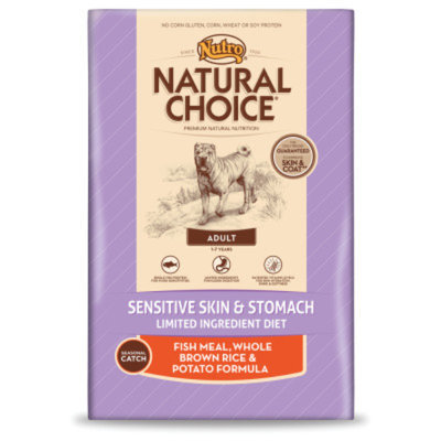 Nutro Natural Choice NUTROA NATURAL CHOICEA Sensitive Skin & Stomach Adult Dog Food