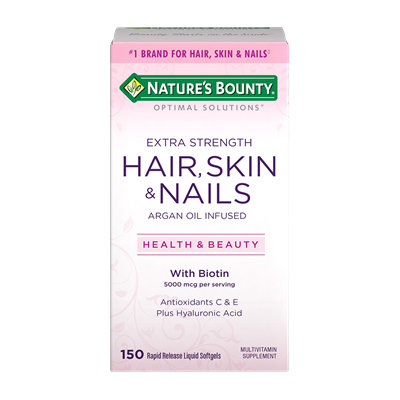 Nature's Bounty Extra Strength Hair Skin & Nails