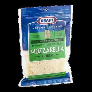 Kraft Mozzarella Cheese Finely Shredded