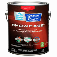 HGTV HOME by Sherwin-Williams Showcase Interior Eggshell Tintable White Latex-Base Paint and Primer in One (Actual Net Contents: 124-fl oz) SH0023004-16