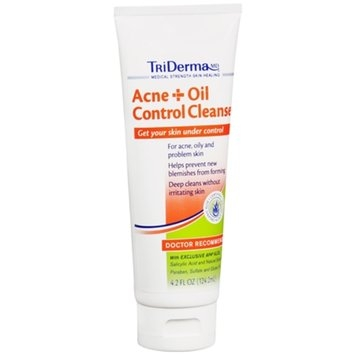 TriDerma MD Acne + Oil Control Cleanser