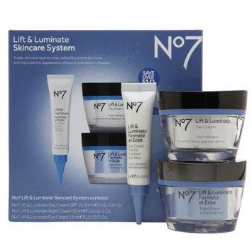 Boots No7 Lift & Luminate Skincare System