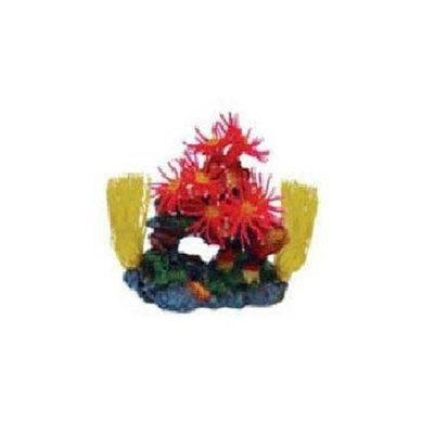 Instant Ocean-Aquarium Systems AIOSGA215 Seagarden Coral Dictyota Aquarium Decorative Plant, Red