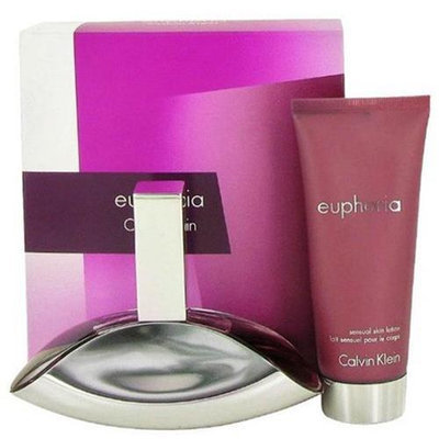 Calvin Klein awgeup2 3.4 Oz. Euphoria Gift Set For Women 2 Piece