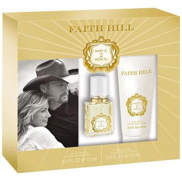 Faith Hill Soul2Soul for Women Fragrance Gift Set, 2 pc