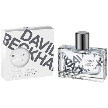 David Beckham Homme Eau de Toilette Natural Spray, 1 fl oz