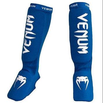 Venum Kontact Shin and Instep Guard Color: Blue