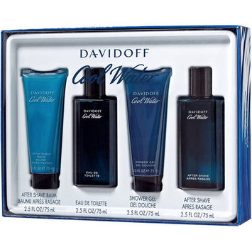 Davidoff Cool Water Fragrance Gift Set, 4 pc