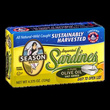 Season Sardines Olive Oil