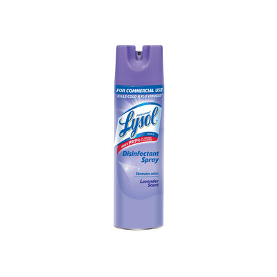 Reckitt Benckiser 89097EA Disinfectant Spray Lavender 19 oz Aerosol