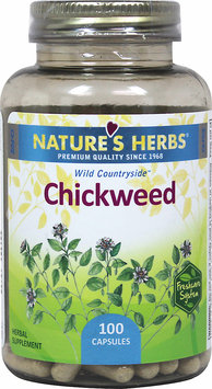 Nature's Herbs Chickweed 100 Capsules