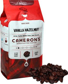 Cameron's Vanilla Hazelnut Whole Bean Coffee-12 oz-Whole