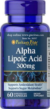 Puritan's Pride 2 Units of Alpha Lipoic Acid 300 mg-60-Capsules