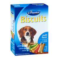 Companion Dog Biscuits Multi Flavor