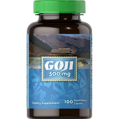 Puritan's Pride 3 Units of GOJI 500 mg-100-Capsules
