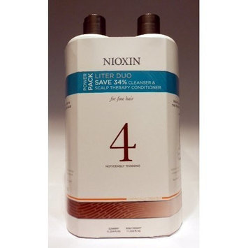 Nioxin® Nioxin System 4 Cleanser & Scalp Therapy (Chemically Enhanced Hair: Noticeably Thinning) 33.8 oz (1 Liter)
