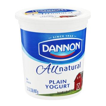 Dannon Yogurt All Natural