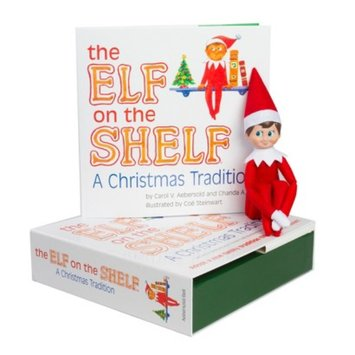 The Elf on the Shelf®: A Christmas Tradition (includes blue-eyed
