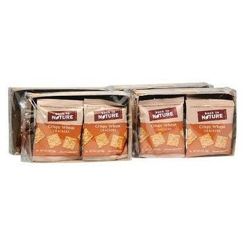 Back to Nature Crackers 8 Pouches 4 Pack