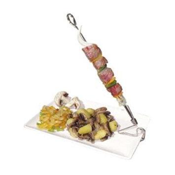 Paderno World Cuisine A4982105 X6 Skewer Holder Clips Set/6