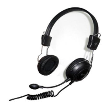 SYBA Connectland CL-CM-5023 Circumaural Stereo Headset with Microphone