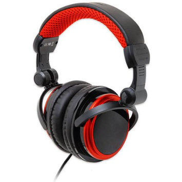 SYBA CL-AUD63063 MP3 Gaming - Multimedia Stereo Headset - Black-Red