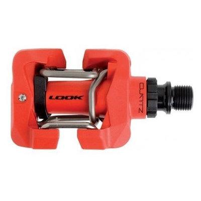 Look Quartz MTB Pedals, Red