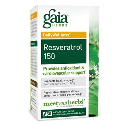 Gaia Herbs Resveratrol 150