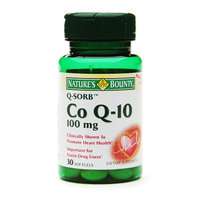 Nature's Bounty Q-Sorb CoQ10 100 mg Dietary Supplement Softgels 2 Pack