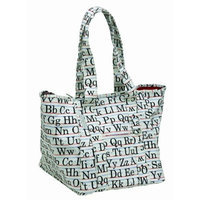 Sugarbooger Day Tripper Tote Bag, Vintage Alphabet