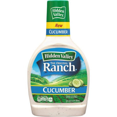 Hidden Valley Cucumber Ranch Dressing, 24 fl oz