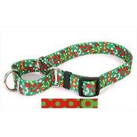 Yellow Dog Design Christmas Polka Dot Martingale