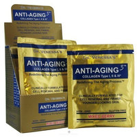 Dr. Venessa's Formulas Anti Aging 3 Collagen Powder Travel Pack Mixed Berry 7 Packets