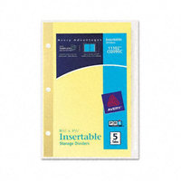 Avery WorkSaver Insertable Tab Dividers