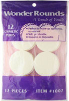 A Touch Of Youth Wonder Rounds Cosmetic Puffs, # 1007 - pack of 12