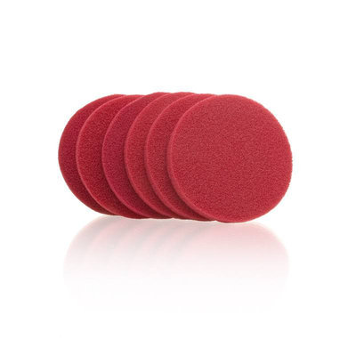 Wonder Products Wonder Pro Professional Red Rubber Sponge #01055 6 Count